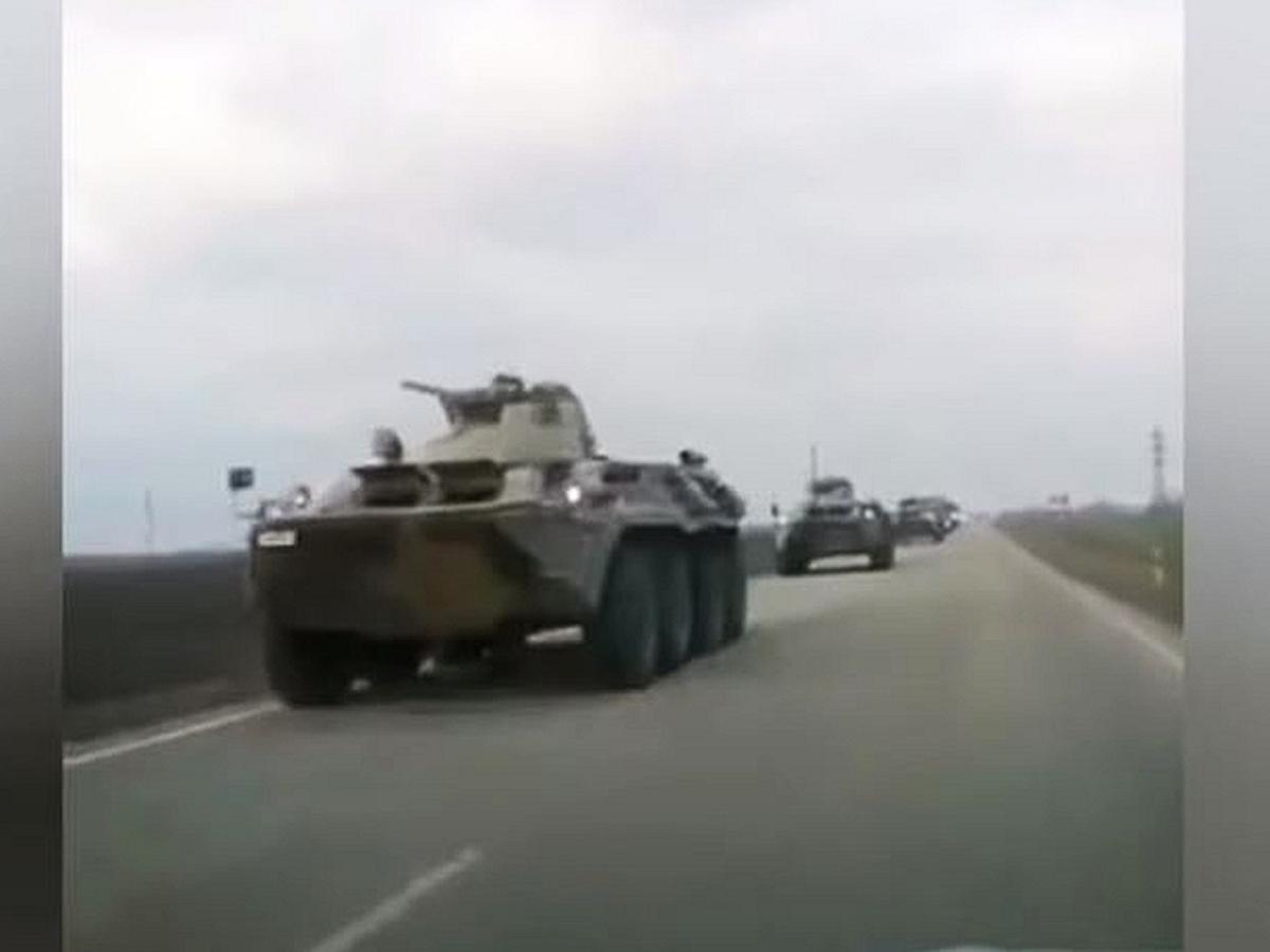 у границ Украины максимальная концентрация ВС