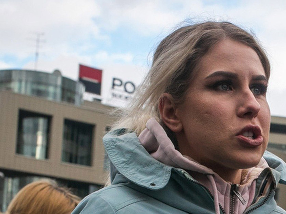 В Москвезадержана юрист Любовь Соболь