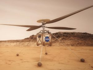 NASA опубликовало видео первого полета вертолета на Марсе