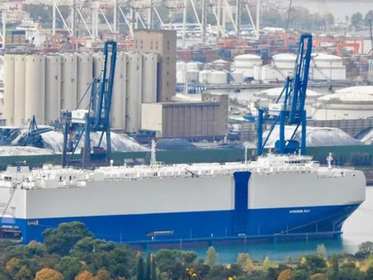 ВМС Израиля ОАЭ нападение на грузовое судно