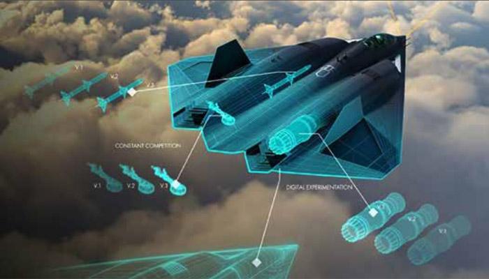ВВС США впервые показали на фото истребитель шестого поколения