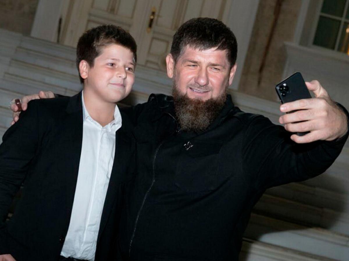 Адам и Рамзан Кадыровы