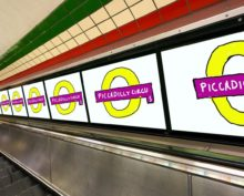 Brilliant work from David Hockney in Piccadilly—the first of a series of major art projects we've commissioned