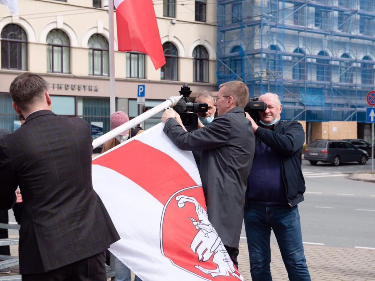 ЧМХ Рига флаг России
