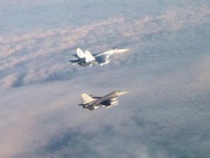 F-35 перехват над Балтикой