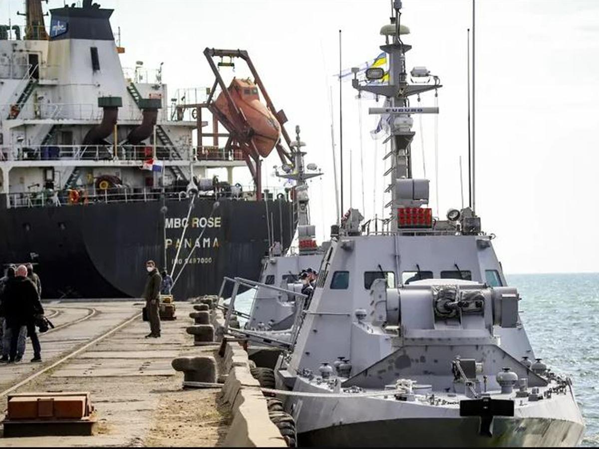 Генерал НАТО Азовское море