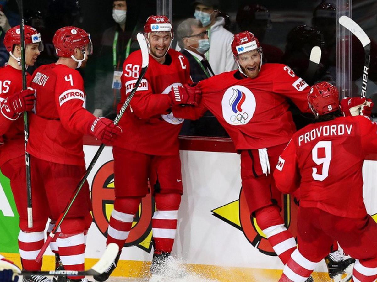 Хоккей Россия - Великобритания