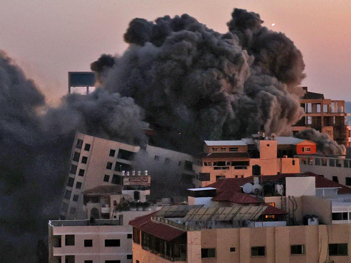 Израиль наземная атака сектор Газа
