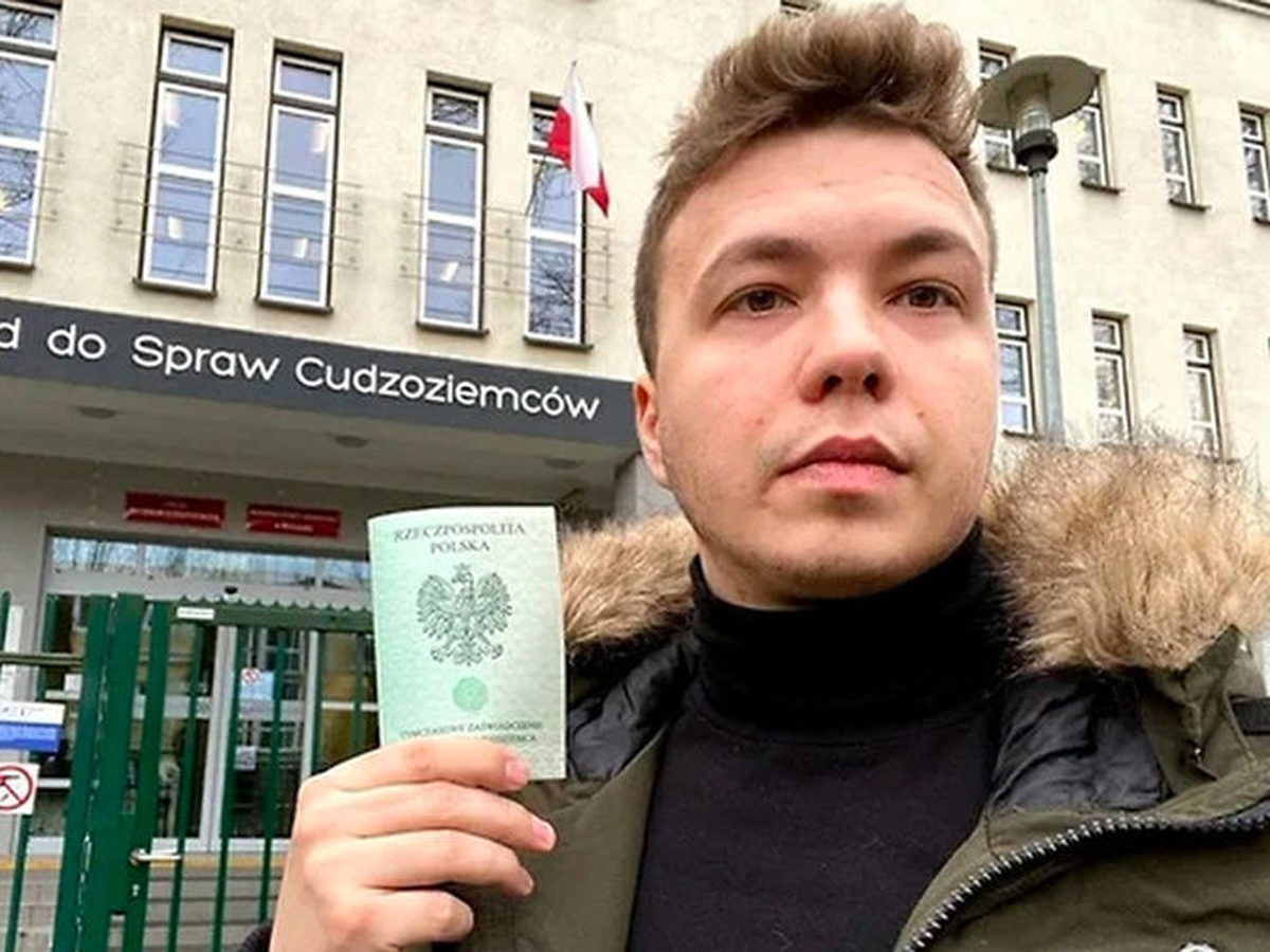 Китай об аресте Протасевича
