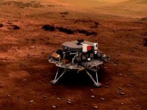 Китайский зонд на Марсе