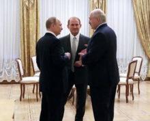 Лукашенко, Путин, Медведчук