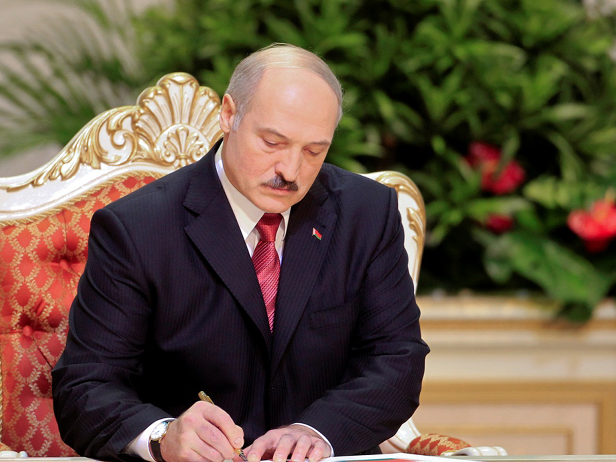 Лукашенко о передаче власти