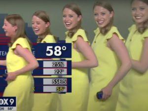 У ведущей прогноза погоды появилось сразу несколько клонов