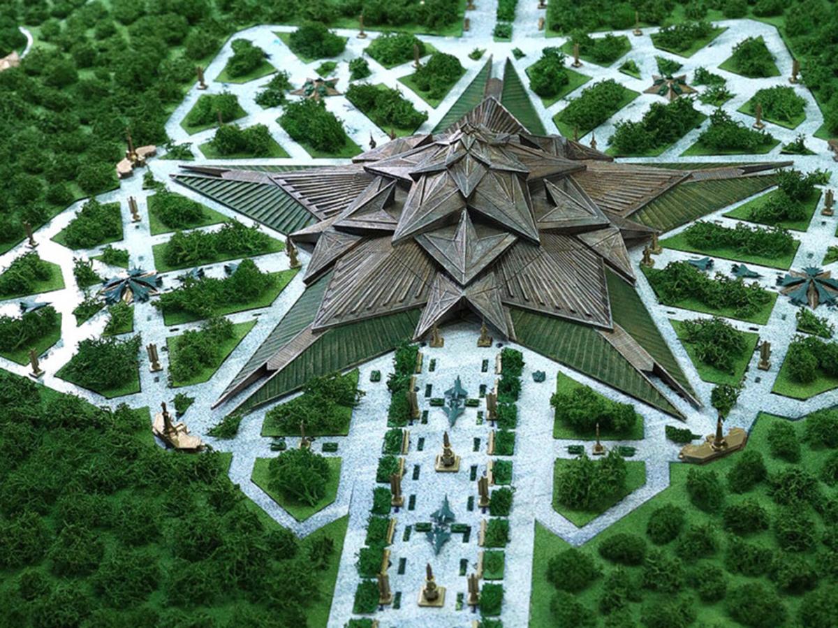 Музей в форме пятиконечной звезды