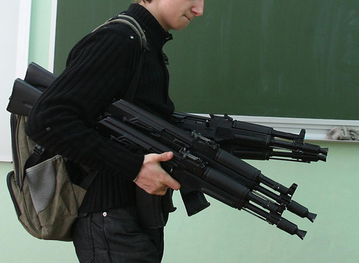 Стрелок в школе