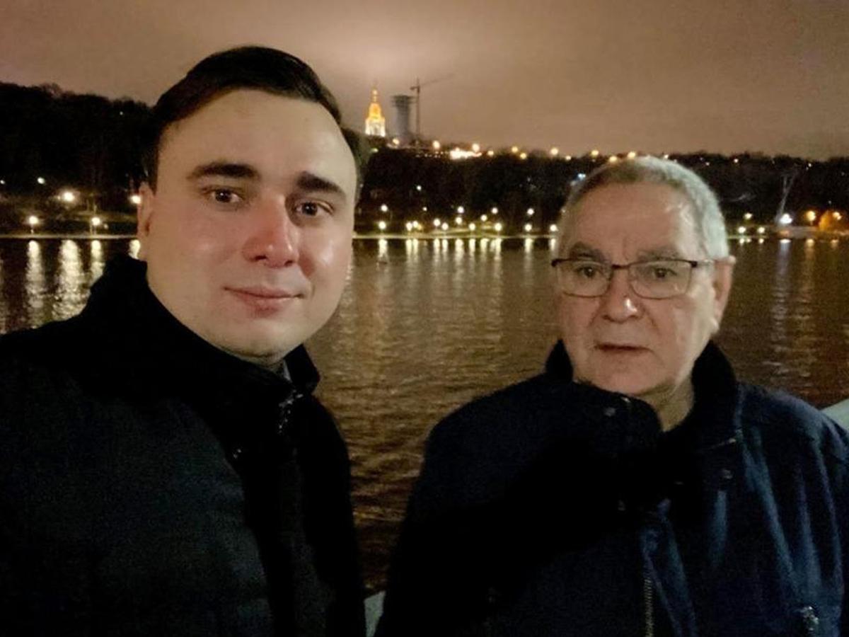 Отец Ивана Жданова