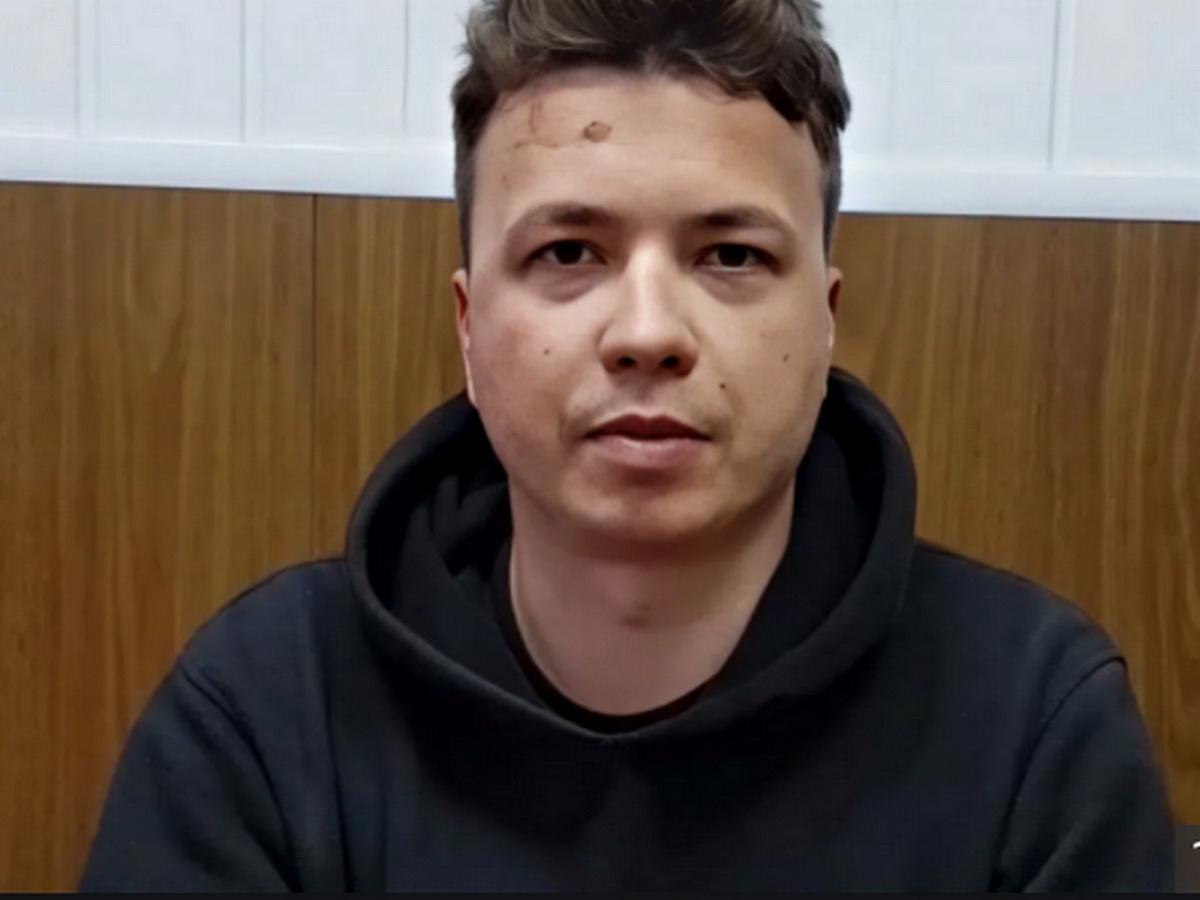 Видео с признанием Протасевича