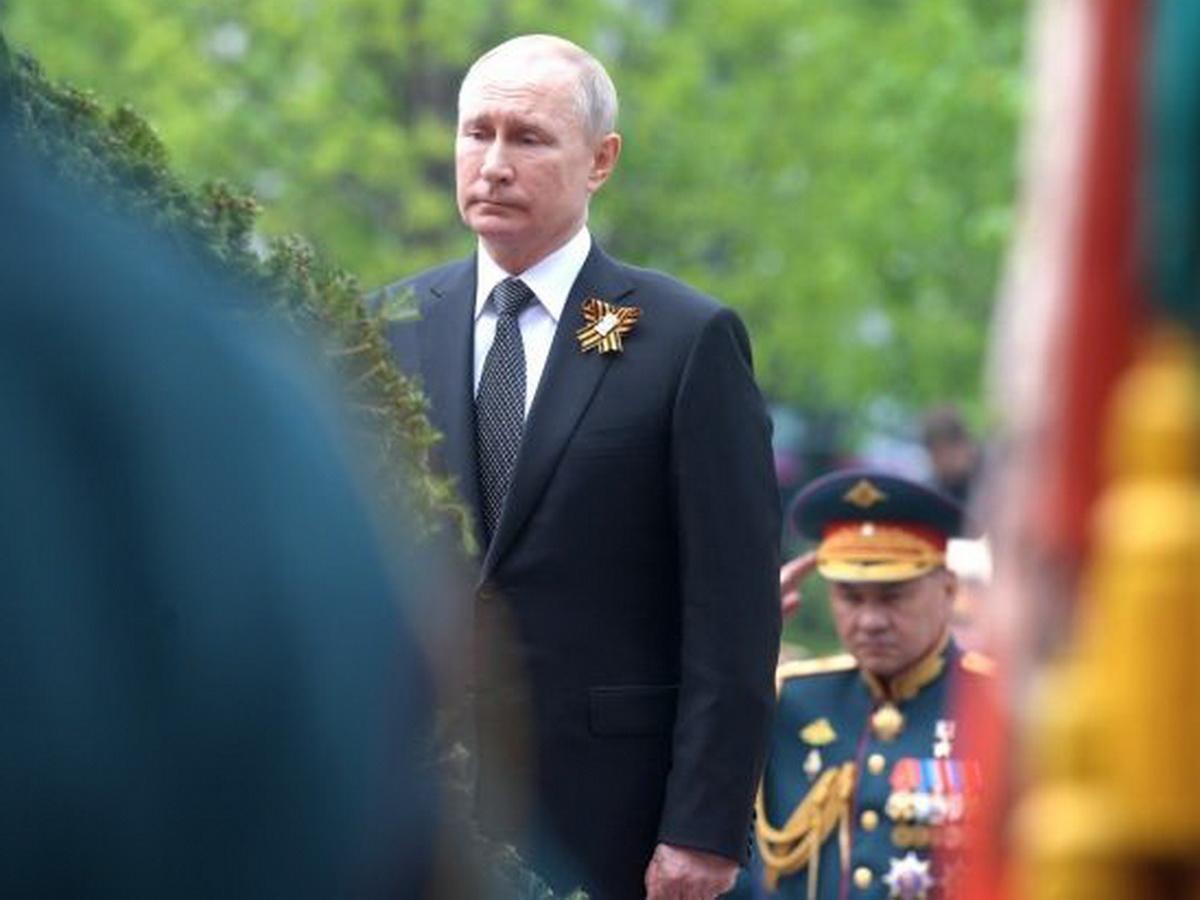 Поздравление Путина с Днем Победы