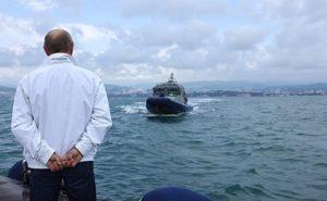 Путин на яхте