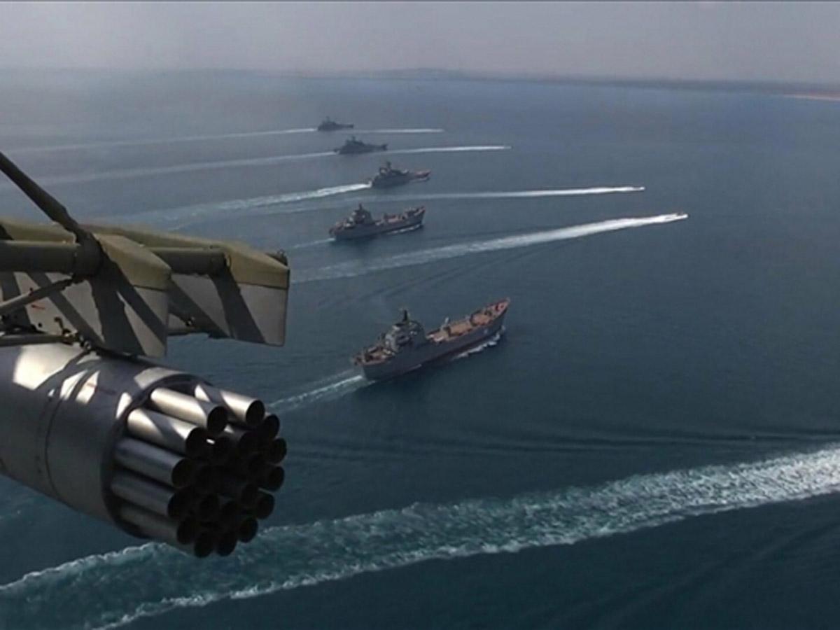 Россия 55 кораблей ЧМФ НАТО