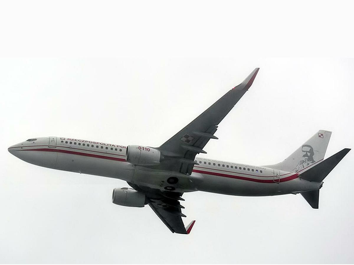Самолет ВВС Польши