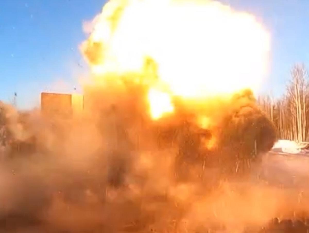 В России показали видео испытания нового секретного оружия