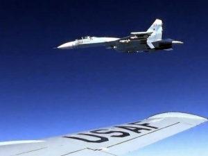 Су-35 перехват