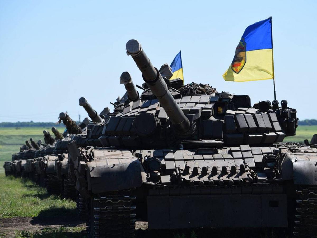 СМИ: около 200 танков ВСУ не способны начать наступление в Донбассе из-за контрмер России