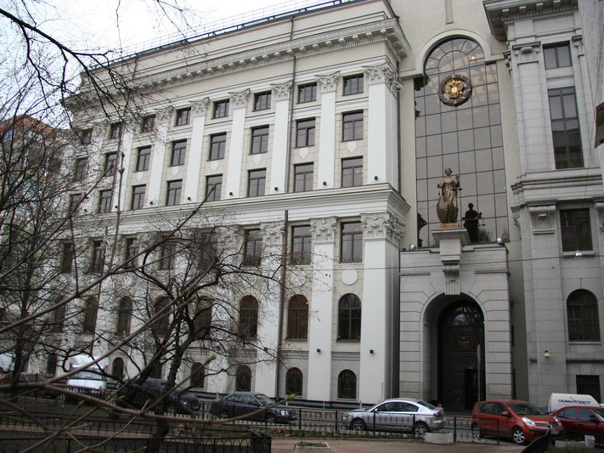 Верховный суд здание труп