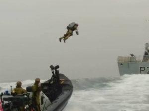 Британские морпехи испытали реактивные ранцы