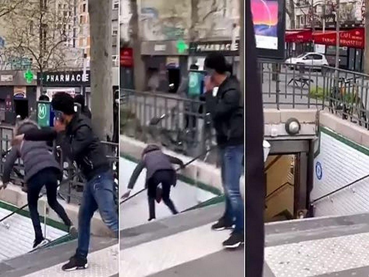 Мужчину депортировали из страны за толкотню в метро