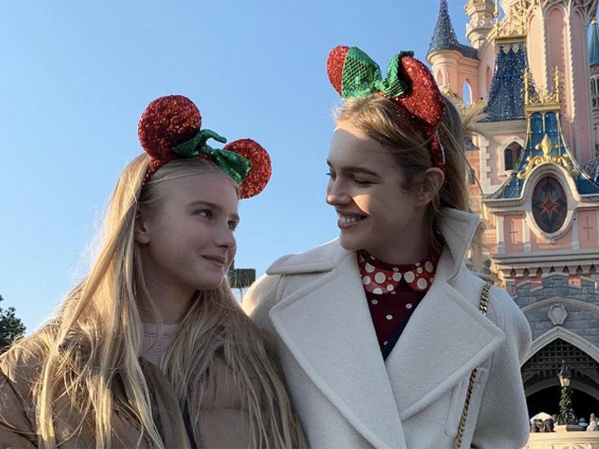 Модель Наталья Водянова опубликовала фото 15-летней дочери