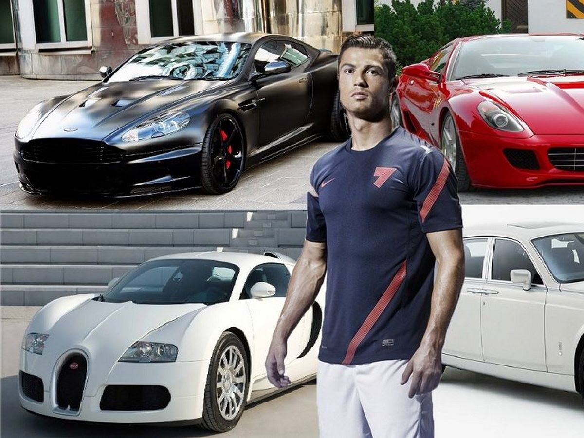 Роналду приобрел самый красивый автомобиль в истории