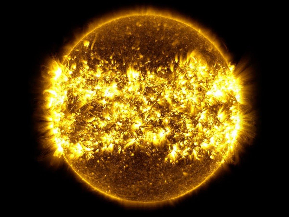 Видео жизни Солнца за год собрало 1,3 млн просмотров
