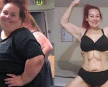 Британка кардинально изменилась, сбросив более 75 килограммов