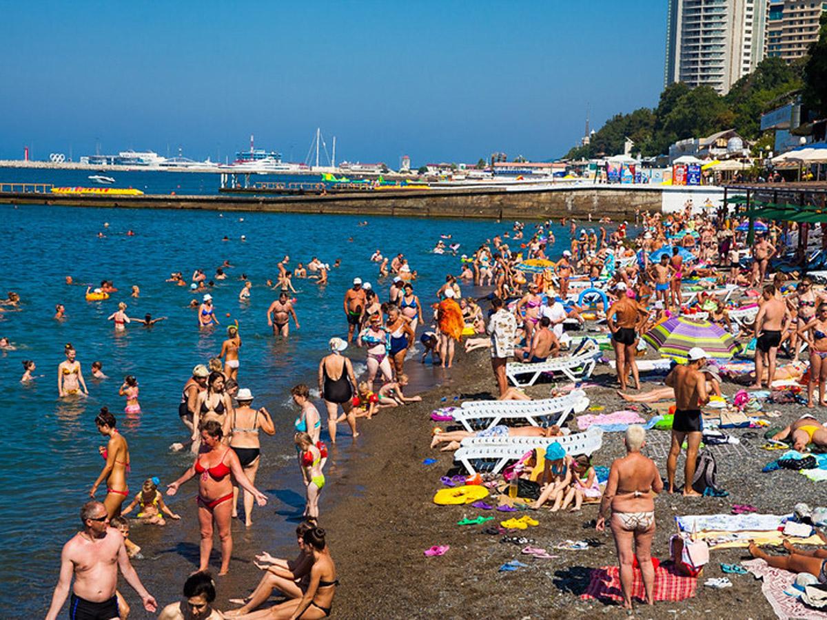 туристы отдых вроссии