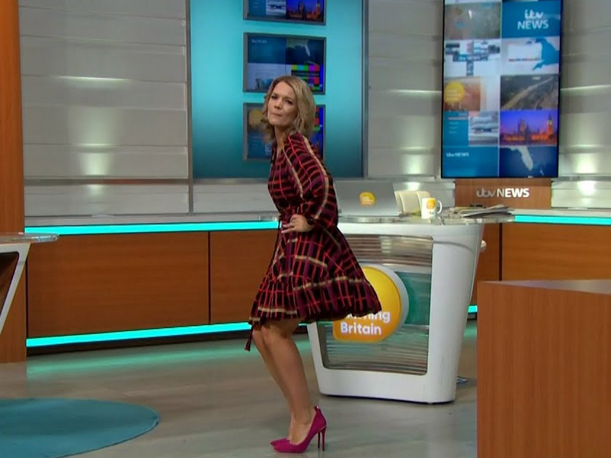 45-летняя телеведущая исполнила тверк в прямом эфире
