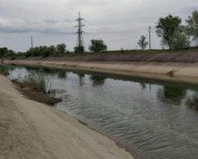 Украина Северо-Крымский канал заполняется водой
