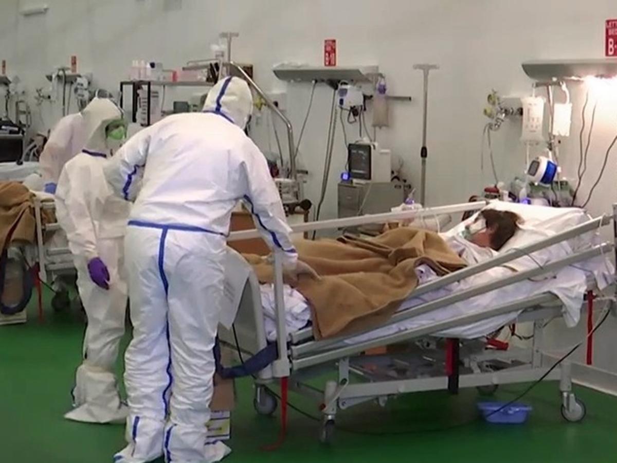 Пик заболеваемости коронавирусом