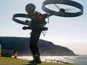 Испытания CopterPack сняли на видео в Австралии