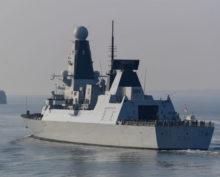 Британский эсминец
