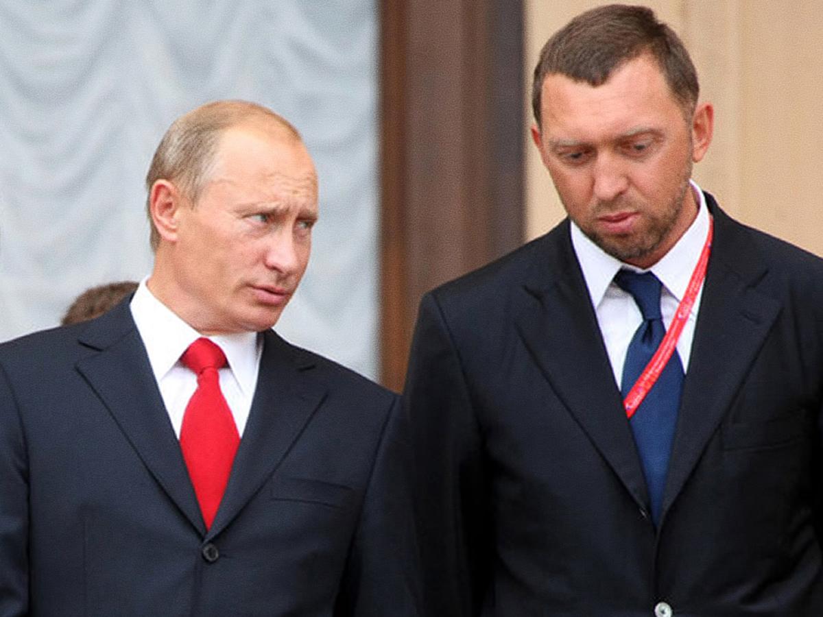 Дерипаска Путин