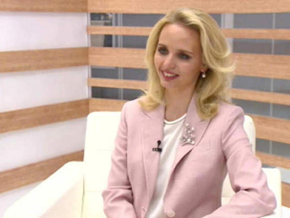 Предполагаемая «дочь Путина» дала интервью телеканалу «Россия 24»