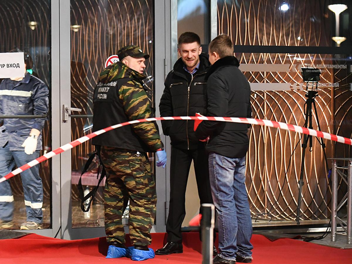 Два охранника перестрелка в «Москва-Сити»