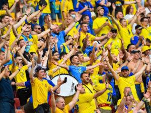 Фанаты сборной Украины