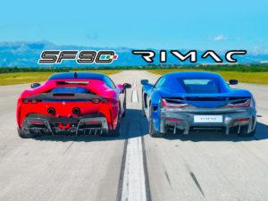 Ferrari или электрокар: кто быстрее?