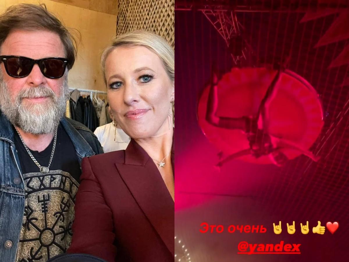 Воздушные гимнасты и матерящийся Усович: Собчак раскрыла закулисье ночных вечеринок ПМЭФ
