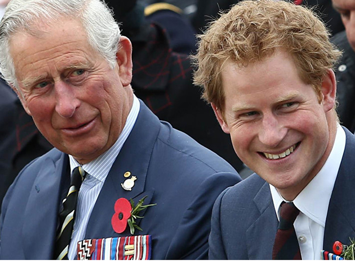 Гарри принц Чарльз давал миллионы