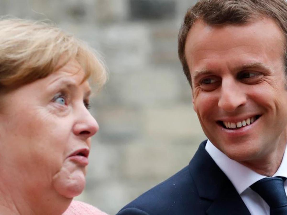 Макрон и Меркель о прослушке США
