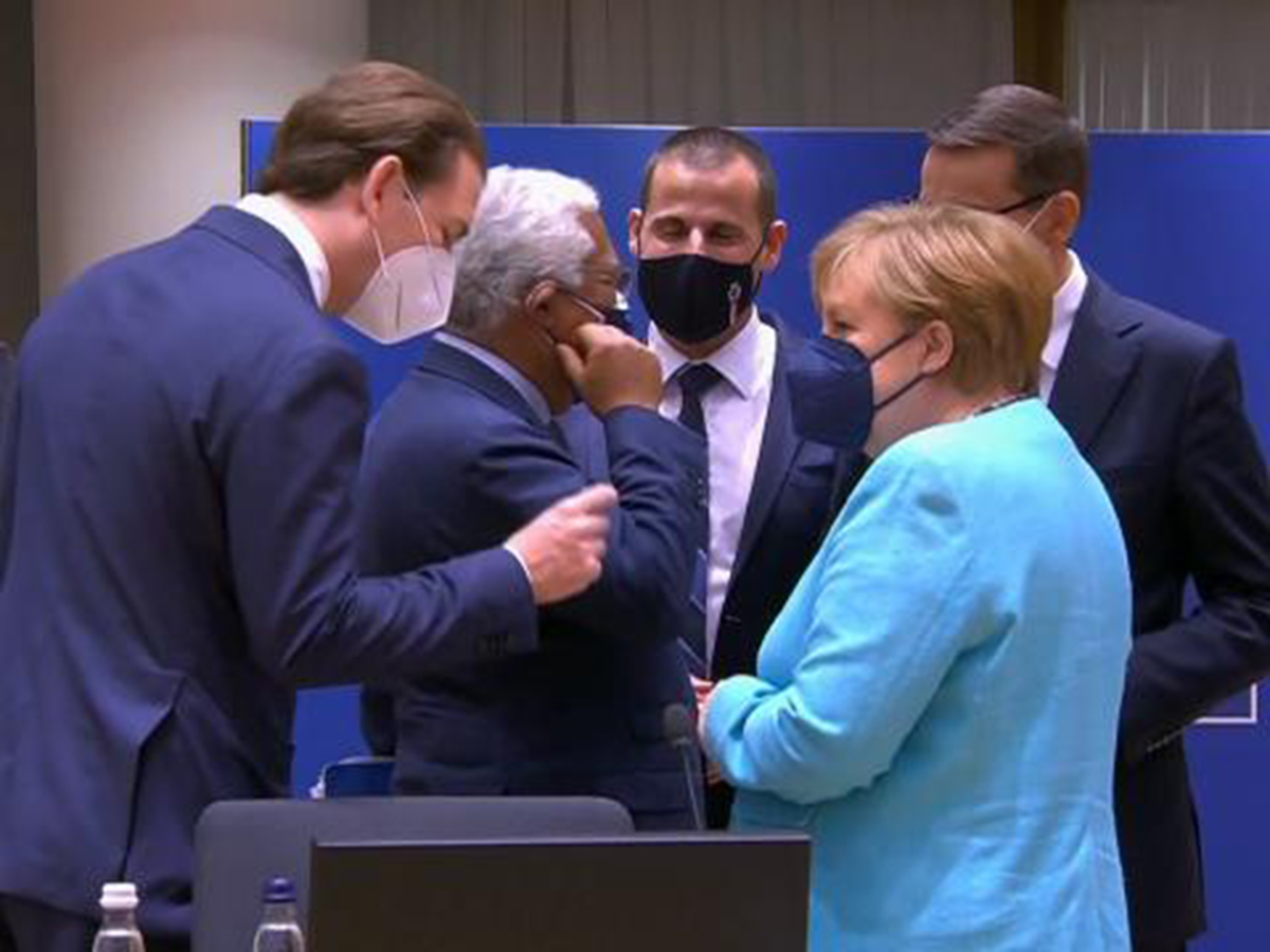 Меркель Евросоюз